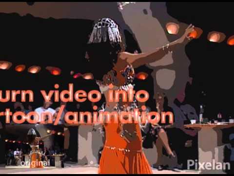 Pixelan CreativEase PosterWise video animation & cartoon effects plugin