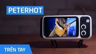 """Loa bluetooth biến điện thoại bạn thành """"ti vi cổ"""""""