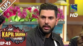 Astonishing cricketer Yuvraj Singh - The Kapil Sharma Show - Ep.45 -24th September 2016