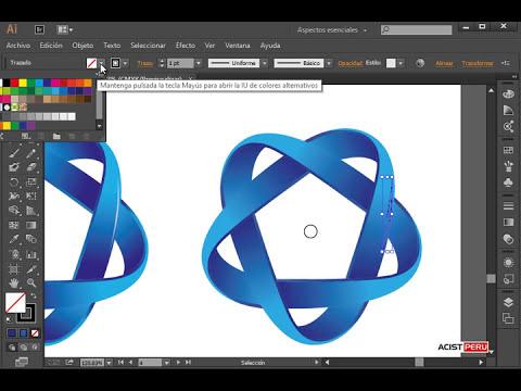Curso a Distancia de Diseño Gráfico: Diseñar o crear un logo 3D con Illustrator CC (completo)