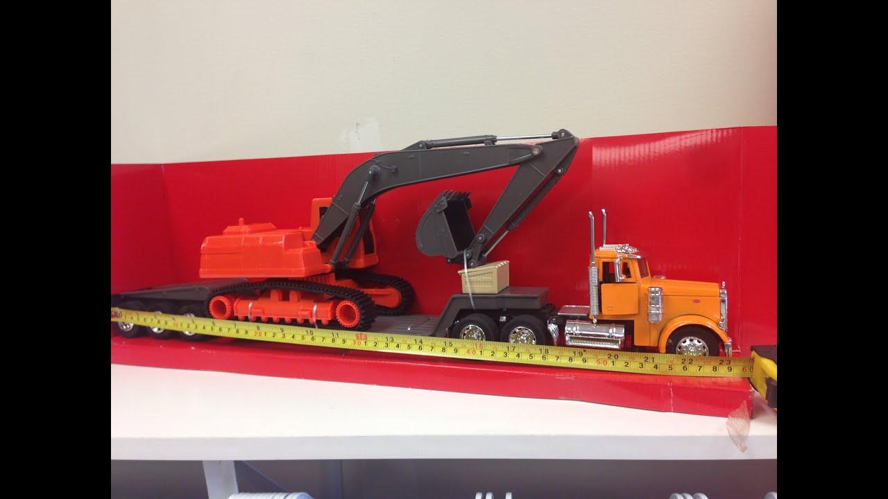 Big Rig Toy Trucks Kenworth Big Crane And Rig Toy