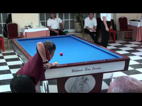 Campeonato España selecciones autonomicas billar tres bandas 2011