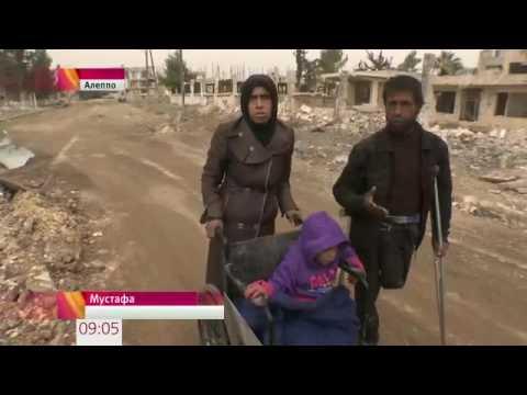 В Алеппо началось восстановление освобожденных от боевиков кварталы