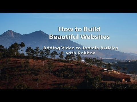 How to Build Beautiful Websites with Joomla and Rocket Theme Templates - Part 12