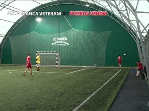 3. kolo Mini Fudbal Prve Lige CG - Aqua Bianca Veterani - Picerija Venom 2:1