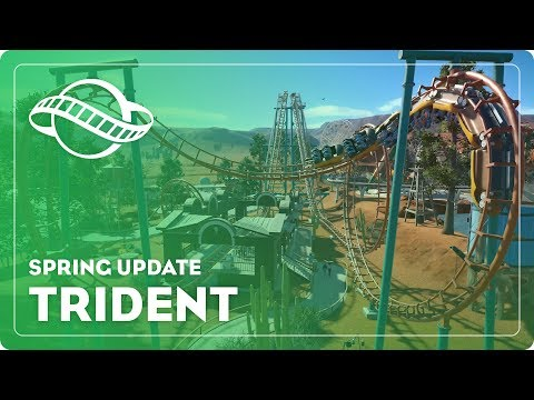 Planet Coaster - Spring Update: Trident