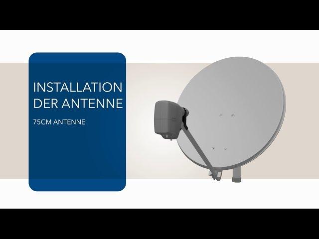 vsat terminal anleitung antennen 75cm und mdm2200 ip satelliten modem installation sat3play. Black Bedroom Furniture Sets. Home Design Ideas