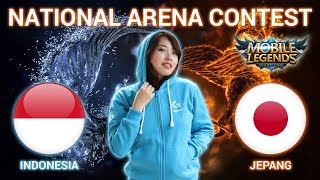 INDONESIA VS JEPANG - National Arena Contest Cast by Kimi Hime - 20/12/2017