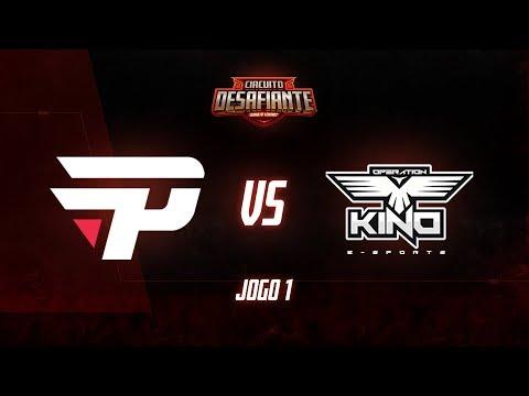 Circuitão 2019: paiN Gaming x Operation Kino (Jogo 1) | Fase de Pontos - 1ª Etapa
