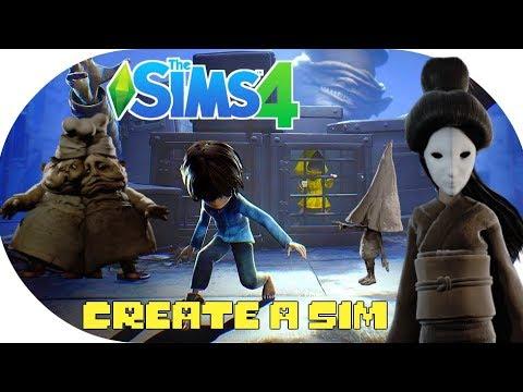 The Sims 4 LITTLE NIGHTMARES CAS + CC 👻🍖 Create A Sim