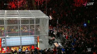 SHANE MCMAHON VS KEVIN OWENS HELL IN A CELL 2017 | SHANE JUMP OF CELL AT HELL IN A CELL 2017