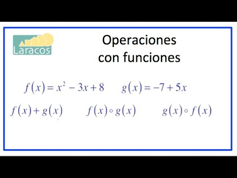 Operaciones con Funciones