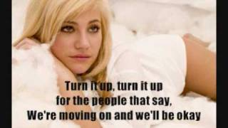 Pixie Lott - Turn It Up - Karaoke Instrumental