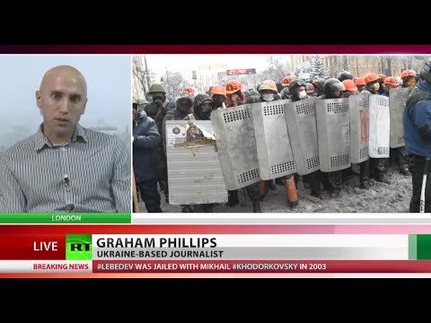 'Highly militarized rioters attempt to start civil war in Ukraine'