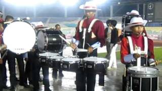 Drumline show from Junior Champion of Kuala Lumpur World Marching Band Competition 2009