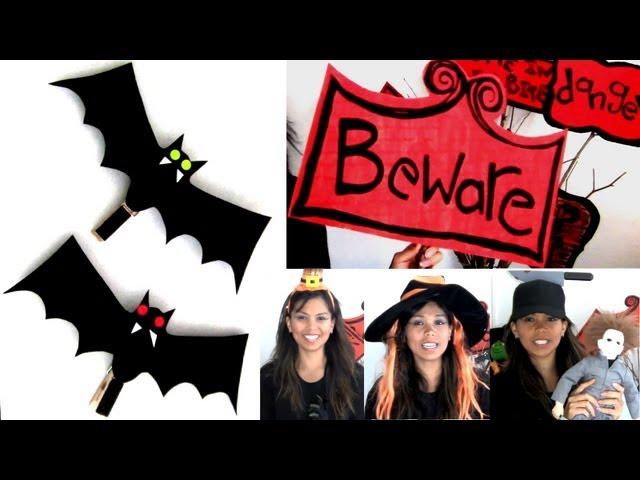 DIY Halloween Decorations & Flea Market Finds!