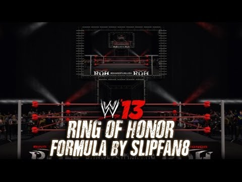 WWE '13 Ring Of Honor Arena Formula by slipfan8