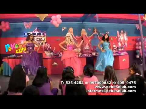 Show Barbie EscOla de Princesas