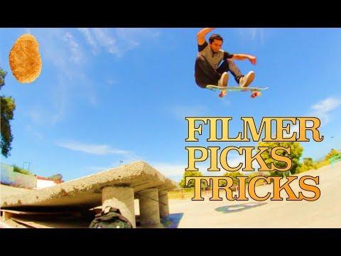 [FILMER PICKS MY WARM-UP TRICKS]