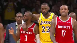 Houston Rockets vs Los Angeles Lakers | October 20, 2018