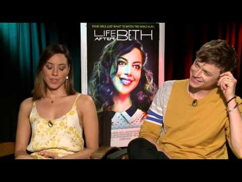 Aubrey Plaza and Dane DeHaan say the funniest scene in 'Life After Beth' didn't make the film
