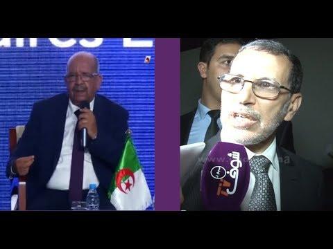 """رئيس حكومتنا العثماني يقصف وزير الحشيش الجزائري """"مساهل"""""""