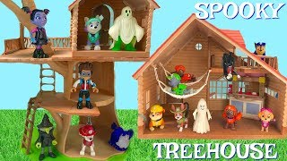 Learn Colors with Paw Patrol Spooky Halloween Treehouse Cabn Treasure Hunt   Fizzy Fun