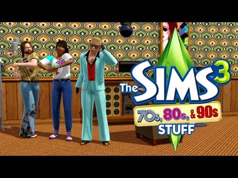 LGR - The Sims 3 70s, 80s, & 90s Stuff Review