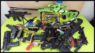 ✓ SİLAH KOLEKSİYONUMU MERAK EDENLER! Boncuk Atan Patlayan Silahlar -  Sam's Toys