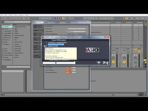 Ableton Live 001 Первичная настройка