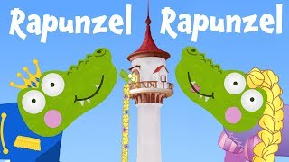 Rapunzel Rapunzel Cartoon   Silly Crocodile Fairy Tales & Bedtime Stories for Kids   Princess Story