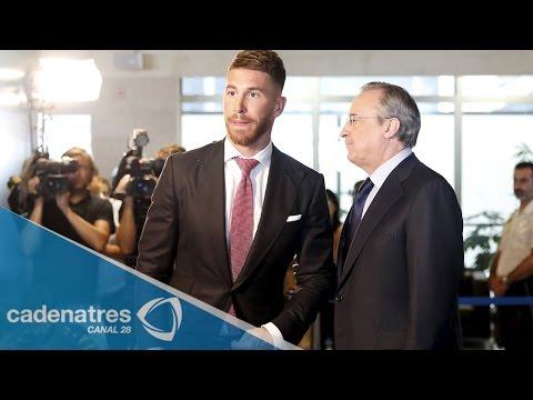 Sergio Ramos seguirá cinco años más con el Real Madrid