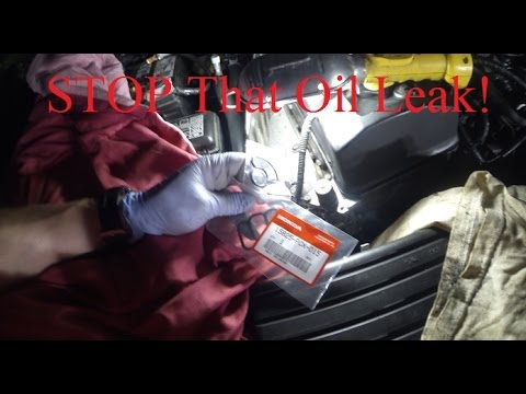 How to replace VTEC solenoid gasket Honda S2000 and remove broken bolt