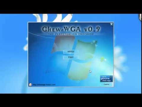 chew-wga 09 активатор для windows 7 скачать бесплатно торрент