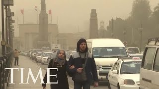Strong Weather Front Batters Middle East With Sandstorms, Hail And Rain   TIME