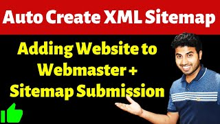 Auto Create XML Sitemap and Submit Sitemap to Google, Bing for WordPress Website | Fast Indexing