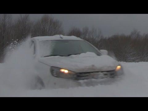Lada Vesta вспахивает целину