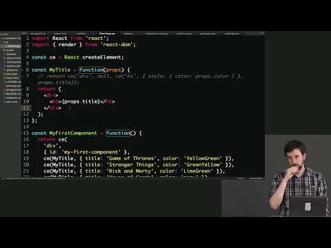 Complete Intro to React. v3 (feat. Redux. Router & Flow) — Brian Holt — Frontend Masters