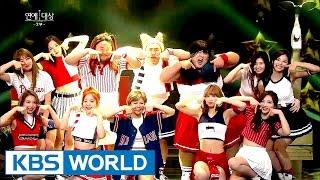 Congratulatory Performance - TWICE 2016 KBS Entertainment Awards2016.12.27