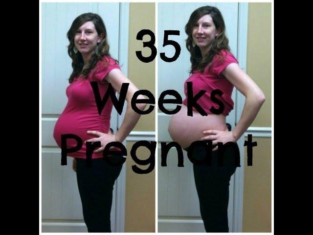 Pregnancy Week 35 Vlog Baby #1