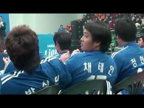 1201 삼성라이온즈 축승회 채태인-박석민-최형우 ㅋㅋ - Youtube.flv video