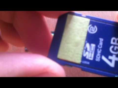 Quitar la protección contra escritura a memorias SD