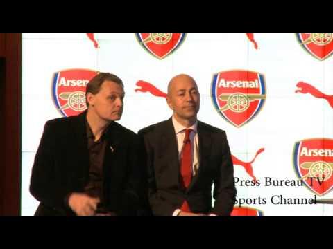 Arsenal Puma Kit Launch