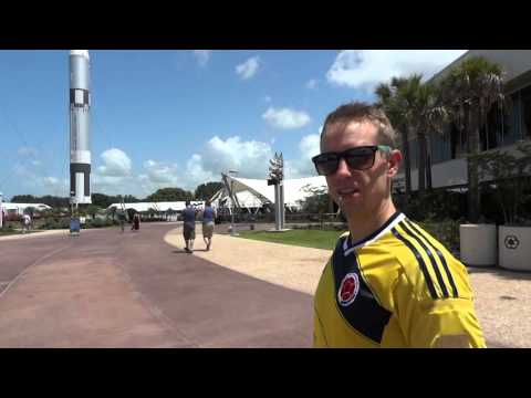 Redneck yank at Kennedy Space Centre