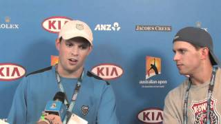 Off The Court: Bob and Mike Bryan - Australian Open 2011