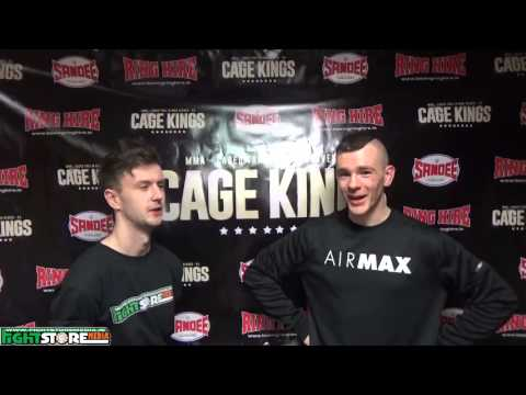 Jordon Matthews post fight interview at Cage Kings Dublin