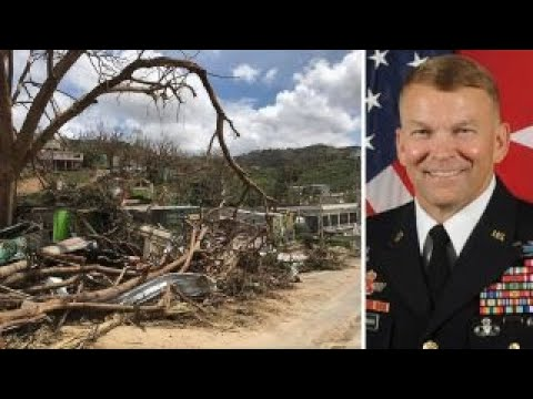 3-star general leading recovery efforts in Puerto Rico