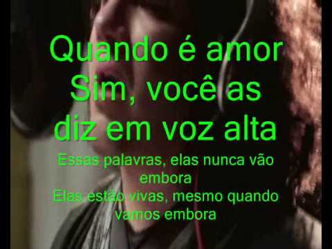 Chris Medina What Are Words Legendado video