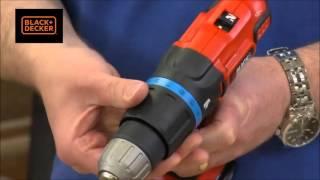 Black and Decker Combi Drill 18 Volt Lithium ion B/DEGBL188KB