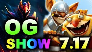 OG NEW ROSTER DEBUT! vs FEU DUEL SHOWMATCH! -  NEW 7.17 DOTA 2